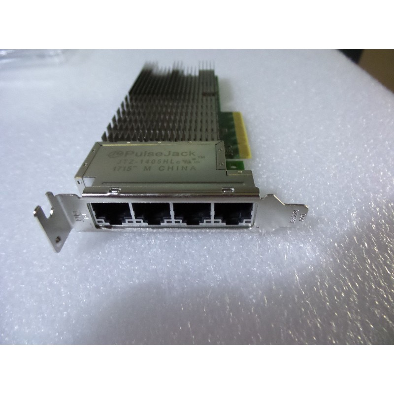 4 port low profile Dell / intel network card 10G BASE-T QP 08XJ7